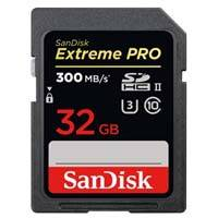 SanDisk SDSDXPK-032G-GN4IN (SDSDXPK032GGN4IN) 32GB 300MB/s Extreme Pro SDHC UHS-II Memory Card