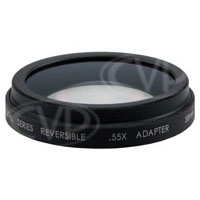 Century DS-55WA-58 (DS-55WA) 0.55X Reversible Wide Angle Adaptor with 58mm Mount for Sony VX2100 / PD-170 / DSR-250, Canon XM2 and JVC GY-DV300U