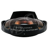 Century DS-FEWA-58 (DS-FEWA) 0.3X Ultra-Fisheye Adaptor Lens with 58mm Threaded Mount for Sony VX-2100 / DSR-250 / PD170 and Canon XM2 / GL2