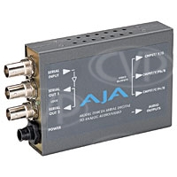 AJA HD10CEA D-A converter - SDI / HD-SDI to Analoge Video + Audio