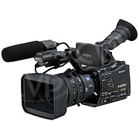 USED Sony HVR-Z7E (HVRZ7E, HVRZ7, HVR-Z7) Handheld HDV 1080 HD Camcorder (Does not include HVR-MRC1K memory recorder)