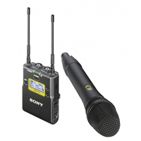 Sony UWP-D12/K33 (Radio Channel 33) Wireless UWP-D Microphone Package with Handheld Transmitter (UK)