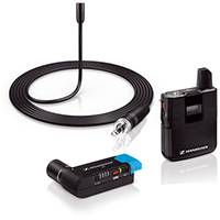 Sennheiser AVX-ME2 Wireless Microphone set including ME 2 Lavalier Microphone, Body-pack Transmitter and Plug-on Receiver (p/n 505855)