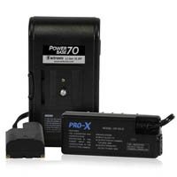 CoreSWX PB70-S (PB70S) Lithium-ion Battery Pack, 70wh / 14.8v, for the Sony L-Series Battery Fit