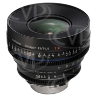 Zeiss (1916-640) 35mm T/1.5 Compact Prime CP.2 Super Speed Lens (PL Fit / Imperial Scale)