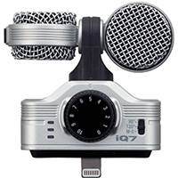 Zoom IQ7 (ZRCIQ) Mid-Side Stereo Microphone for the iPhone 5, 5s, 5c, iPod Touch (5th Generation), iPad (4th Generation), iPad Air, iPad Mini, and iPad Mini with Retina Display