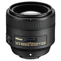 Nikon AF-NIKKOR 85mm f/1.8G Auto Focus Telephoto Portrait / HD Video Lens (JAA341DA)