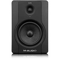 M-Audio BX5 D2 (BX5D2) Next-Generation 70-Watt Bi-Amplified Studio Monitor Speaker (Sold Individually)