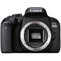 Canon EOS 800D 24.2 Megapixel Full HD Digital SLR Camera Body Only - Black (p/n 1895C016AA)