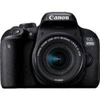 Canon EOS 800D 24.2 Megapixel Full HD Digital SLR Camera with EF-S 18-55mm IS STM Lens (p/n 1895C018AA)