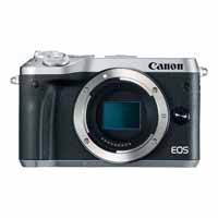 Canon EOS M6 24.2 Megapixel EF-M Mount Digital Camera Body Only - Silver (p/n 1725C041AA)