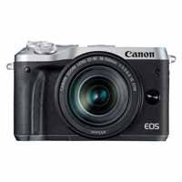 Canon EOS M6 24.2 Megapixel EF-M Mount Digital Camera with 18-150mm f/3.5-6.3 IS STM Lens - Silver (p/n 1725C043AA)