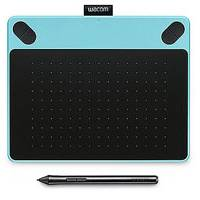 Wacom Intuos Art Pen and Touch Tablet Small Mac/Win - Blue (WACCTH490ABS)