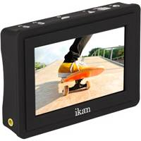 Ikan VL35 (VL-35) 3.5 Inch 4K Supporting HDMI Field Monitor with Canon LP-E6 Battery Plate