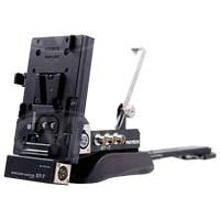Protech ST-7 (ST7) ST-7EX13 Shoulder Mount Support / V-Mount Battery Conversion Kit for Sony PMW-EX3 and PMW-EX1 camcorders, includes DC cable