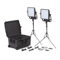 Litepanels Astra Traveler Duo 3X Bi-Colour LED Panels - Gold Mount Kit (p/n 935-3210)
