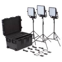 Litepanel Astra Traveler Soft and 6X Bi-Colour LED Trio - V-Mount Kit (p/n 935-3211)