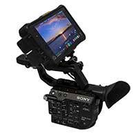 Sony PXW-FS5 RAW Bundle with Atomos Shogun Inferno, 500GB MasterCaddy and SHAPE 10in SDI Cable