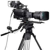 Sony UHC-8300 8K System Camera with Three 8K Sensors
