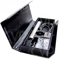 Sony ECM-77B (ECM77B) Omni-Directional Miniature Lavalier (tie-clip) Microphone with XLR Pre-amp