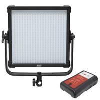 F&V K4000 SE Daylight LED Studio Panel and NVM-95 95Wh V-Mount Battery Bundle (p/n 70000037)