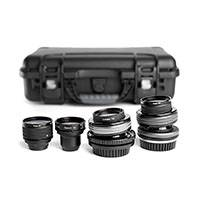 Lensbaby LBPLKIT2 (LBPL-KIT2) Movie Makers Kit II - includes Composer Pro Lenses (PL mount and EF mount)