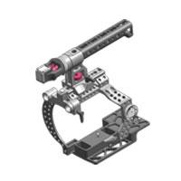 Tilta ES-T05 (EST05) Sony FS700 Camera Rig - includes 15MM lightweight baseplate, lightweight dovetail plate, set of rods, FS700 cage + top handle