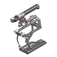 Tilta ES-T04 (EST04) Sony F3 Camera Rig - includes 15mm lightweight baseplate, lightweight dovetail plate,set of rods, F3 cage, top handle + hotshoe adaptor