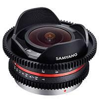 Samyang 7.5mm T3.8 Fisheye VDSLR Cine Lens for Micro Four Thirds (7800)