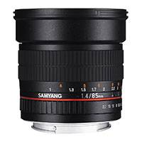 Grade A Samyang 85mm f1.4 IF MC Aspherical Telephoto Lens - Four Thirds Fit (7659)