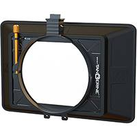 Bright Tangerine Misfit Atom Core Kit, 2 Stage Matte Box with Detachable Lens Shade for 4x5.65 and 4x4 inch Filters (p/n B1230.1007)