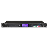 Tascam SS-CDR200 (SSCDR200) 1U Rackmount CD and Compact Flash/SD Recorder