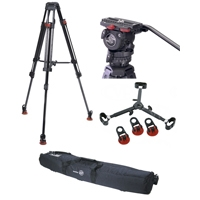 Sachtler 0450 System  FSB 6T SL MCF  (FSB6TSLMCF) + FSB cell + FSB cell charger + cable adapter