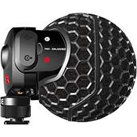 Rode RODSVMX (ROD-SVMX) Stereo VideoMic X - Broadcast-Grade Stereo On-Camera Microphone