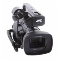 Pre-Owned JVC GY-HM150E (GYHM150E) Standard and High Definition Camera, with 3 chip CCD, 35mbps and native Quicktime recording