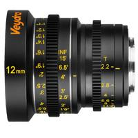 Veydra Mini Prime 12mm T2.2 Lens  - Micro 4/3 Mount (Available in Metric and Imperial Scale)