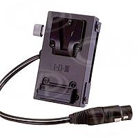 IDX C-EB (XLR) ENDURA V-Mount Battery Discharge Adaptor with 4P XLR Output