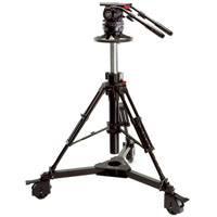 Sachtler 2570 System 25 C III includes Video 25 Plus FB (2501P), Multi Disc (3914) and Pedestal C III (5195)