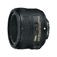 Nikon (JAA015DA) NIKKOR 50mm F1.8G Auto Focus-S FX-format prime (fixed focal length) lens