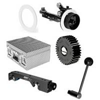 ARRI K0.60121.0 (K0601210) Follow Focus FF-4 Set 15 mm - Black Edition (See Included Tab for Content)