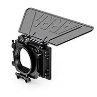 ARRI KK.0005763 (KK0005763) MMB-2 Mini Matte Box Double Tray 4-inch x 5.65-inch LWS Set includes Mini Matte Box, Combo Filter Frame (x2), Lightweight Support Console and Top Flag