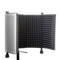 Editors Keys EKSSPVBPF10AB (EKSSPVBPF-10AB) Studio Series Vocal Booth Pro 2nd Edition - includes vocal screen, clamp, & microphone stand