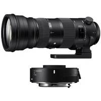 Sigma Sports Line Lens Bundle - Includes 150-600mm F5-6.3 Canon Mount Lens and 1.4x Telephoto Converter