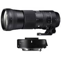 Sigma Contemporary Line Lens Bundle - Includes 150-600mm F5-6.3 Canon Mount Lens and 1.4x Telephoto Converter