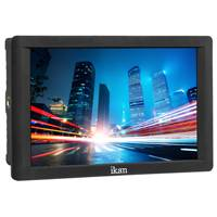 Ikan DH-7 (DH7) 7 Inch 4K Supporting Full HD HDMI On-Camera Field Monitor with Canon LP-E6 and Sony L Battery Plates