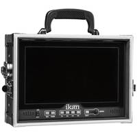 Ikan D12-FK (D12FK) 12 Inch LCD Field Monitor Kit for V-Mount and Gold Mounts with Hard Case