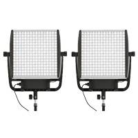 Litepanels Astra 3x Bi-Colour LED Light Duo V-Mount Kit with US and EU Power Supply (p/n 935-3203)