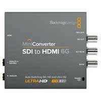 Blackmagic Design Mini Converter - SDI to HDMI 6G (p/n BMD-CONVMBSH4K6G)