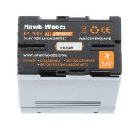 Ex-Demo Hawk-Woods BP-75UX (BP75UX) 75Wh 14.4v Direct Sony Replacement BP-U Battery