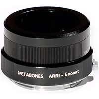 Metabones Arriflex to E-Mount/NEX Adapter in Black Matt (p/n MB_Arri-E-BM1)